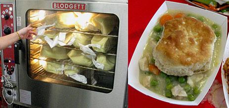 Chicken gravy in oven