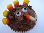 chocolate turkey cupcake