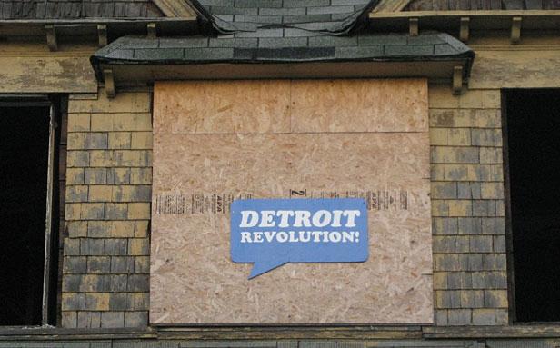 Detroit sign