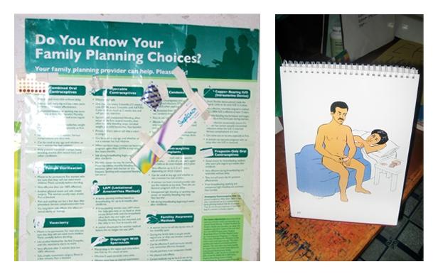 composite of chart & flipbook photos