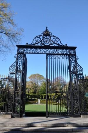 Gates of COnservatory Garden