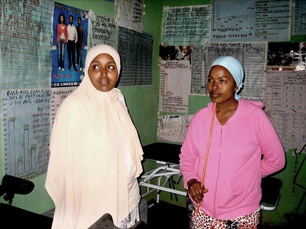 two Ethiopian women