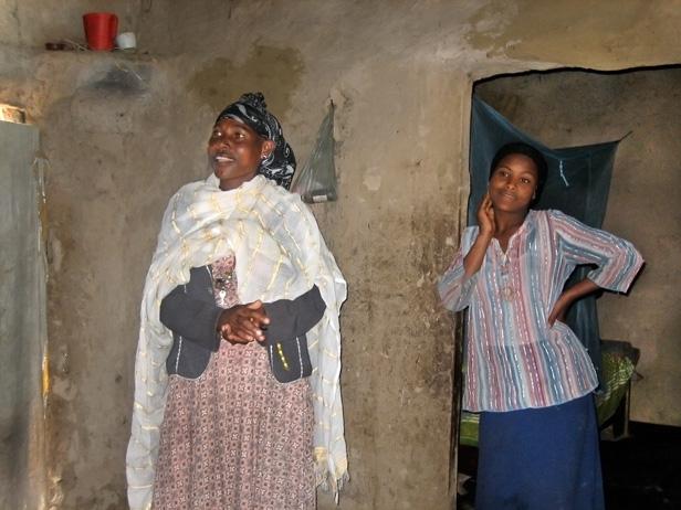 in Fatuma Galato's home