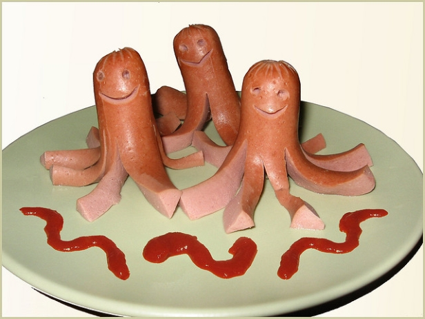 hot dog octopuses