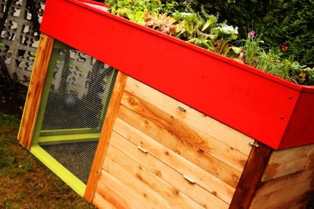 Kippen House garden chicken coop