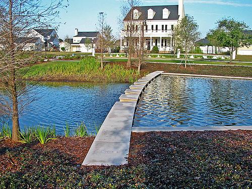 Baldwin Park Stormwater management pond