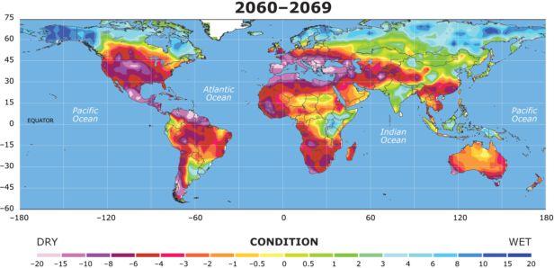 2060-2069 world drought