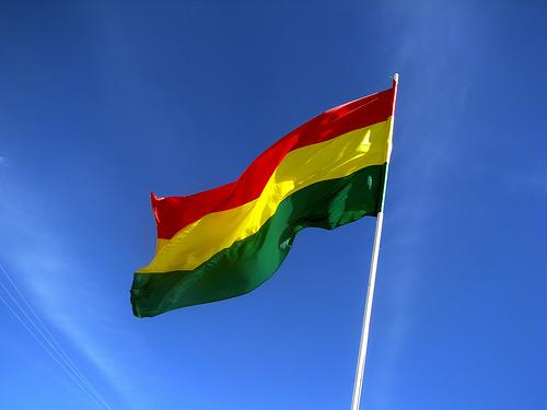 Bolivian flag.