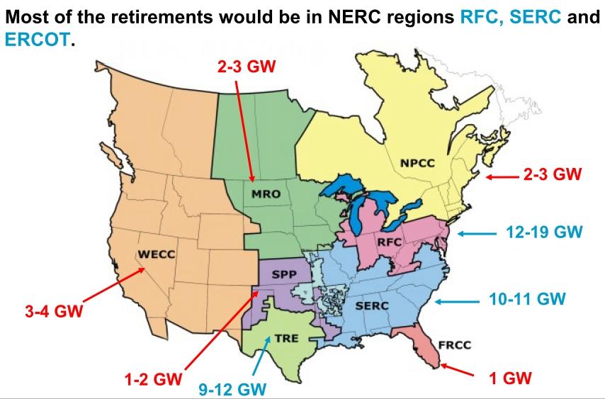 The Brattle Group - coal plant retirements