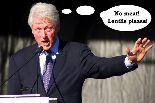 Bill Clinton, vegan