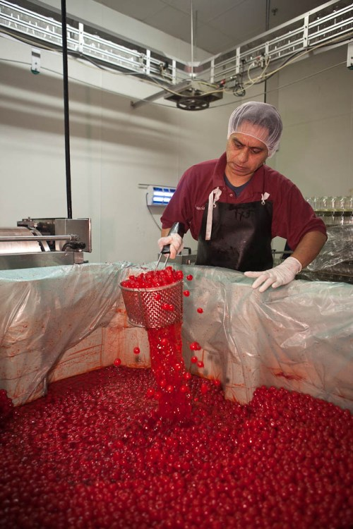 A Dells Cherry worker.