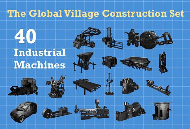 40 machines