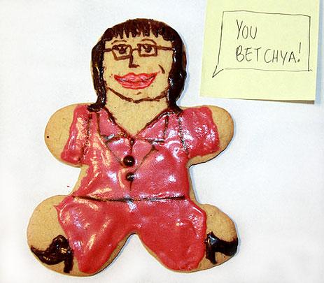 Sarah Palin cookie