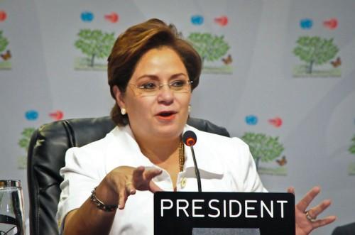 Mexico's Patricia Espinosa