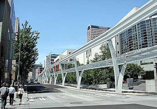 One rendering of possible Seattle monorail.