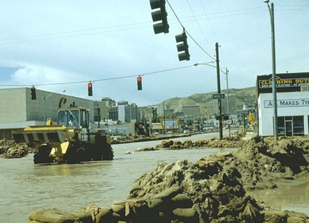 Salt Lake City flood
