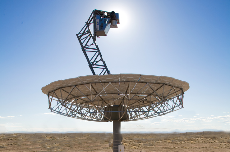 A Stirling solar dish