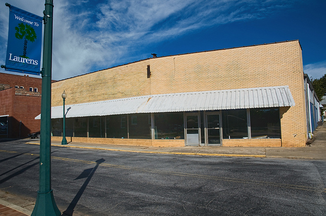 Abandoned grocery store