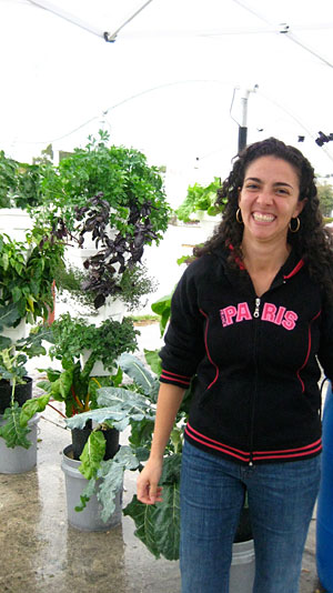 Jessica Padron of the Urban Farmer
