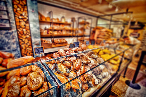 Bread at Eataly.