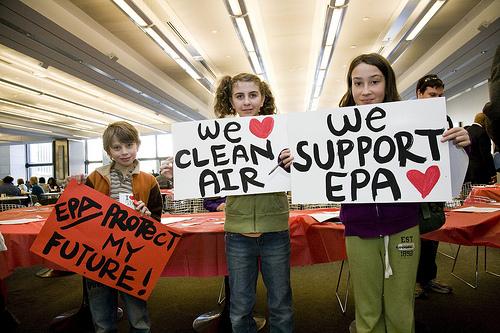 kids love the Clean Air Act