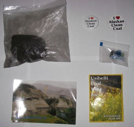 Coal gift bag