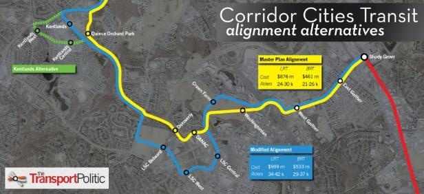 corridor cities transit