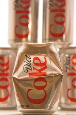 Diet Coke cans