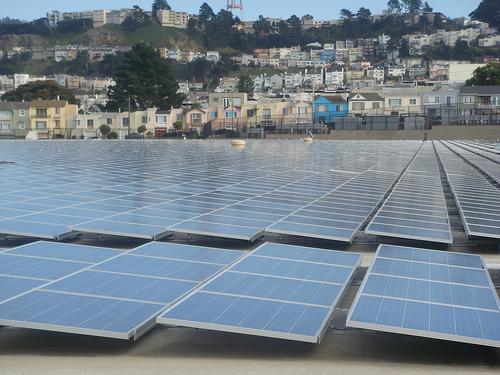 San Francisco solar panels