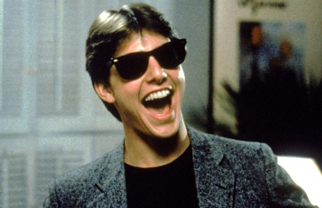 """Tom Cruise in """"Risky Business"""""""