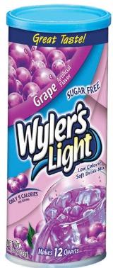 Wyler's grape mix
