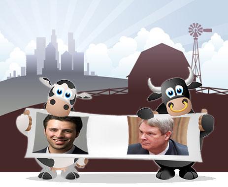 Klein vs. Vilsack with cows
