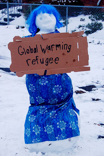 global warming refugee