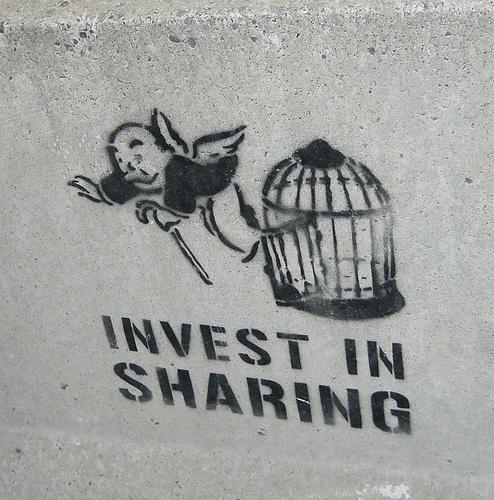 Invest in Sharing graffiti