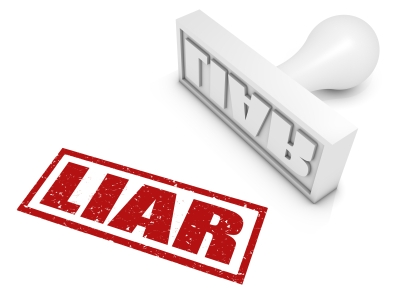 """liar"" stamp"