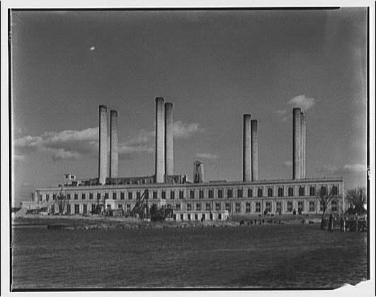 Potomac Power Plant, circa 1920.