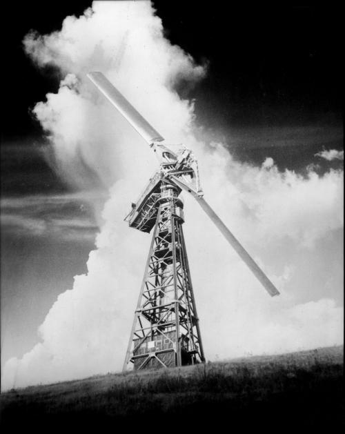 Smith-Putnam 1MW wind turbine, circa early 1940s