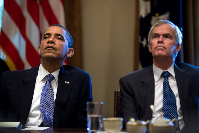 Obama and Bingaman