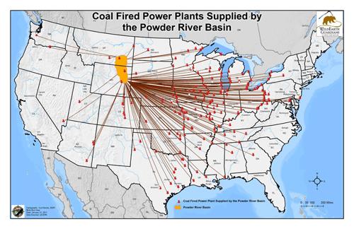 Powder River Basin Distribution Legend Low Res