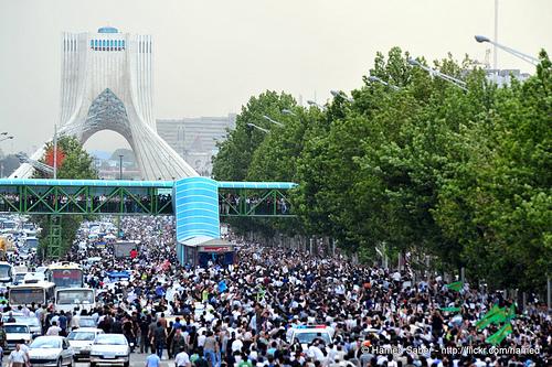 protests in Tehran
