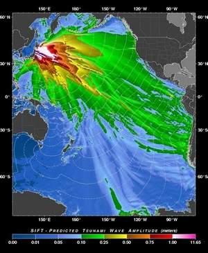 Tsunami chart