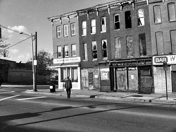 Baltimore slums