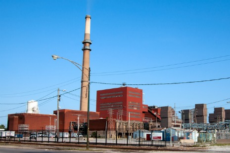 Fisk coal plant in Chicago
