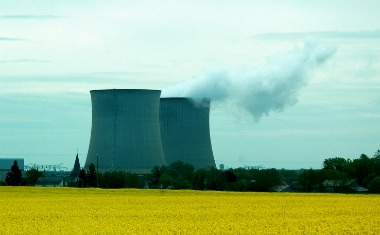 Nuclear plant in France