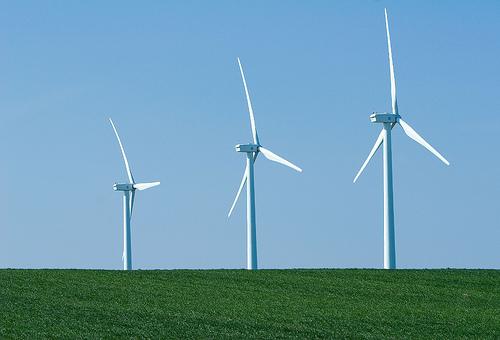 Oregon wind turbines
