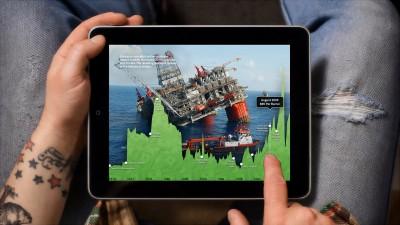 Our Choice app on iPad
