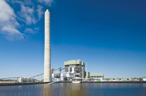 The Kogan Creek Power Station.