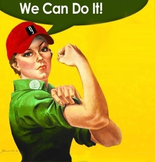 Rosie the climate riveter