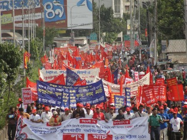 coal protests in Bangladesh