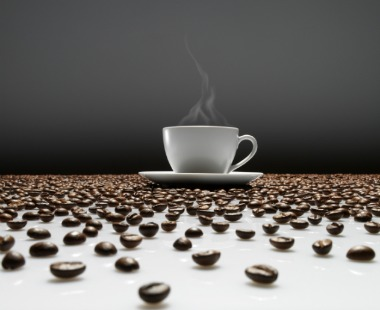 Coffee and beans.